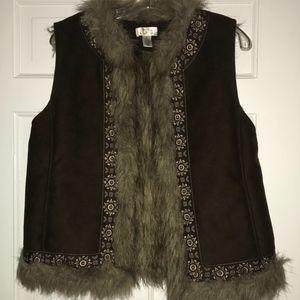 LOFT Fur Vest